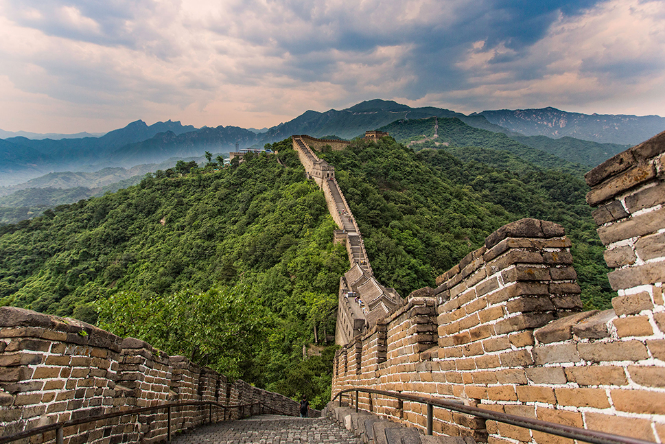 A scenic view on part of the Great Wall of China. Personally planned vacations help you make the most of your adventure.